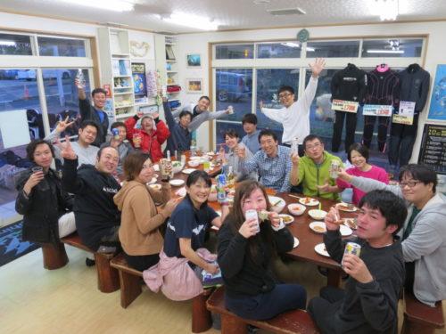 4月13日ドルフィンウェーブ海鮮BBQ~(^o^)丿