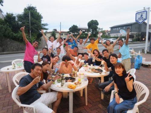 7月20日 総勢22名様とサザエつぼ焼き&ステーキBBQ~(^^)/